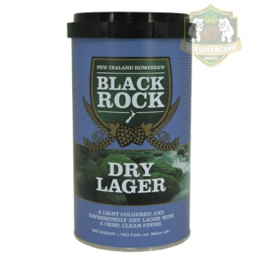 Набор Black Rock 1,7 Dry Lager (Сухой Лагер)