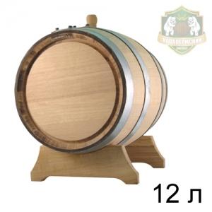 Бочонок дубовый 12 л