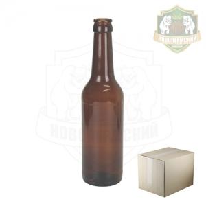 Бутылка пивная коричн 0,33 л. коробка 20 шт