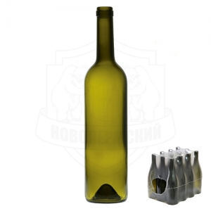 Бутылка винная 0,7 л. упаковка 12 шт