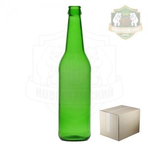 Бутылка пивная зеленая «Лонг Нек» 0,5 л. коробка 20 шт