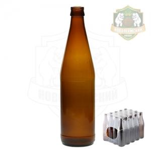 Бутылка пивная «Твист» 0,5 л. кейс 20 шт