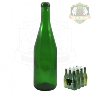 Бутылка шампанская 0,75 л. упаковка 12 шт