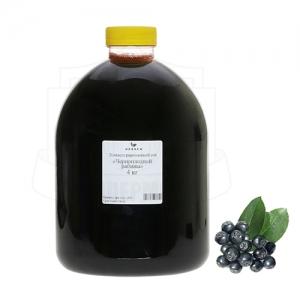 Сок черноплодной рябины концентрированный 4 кг