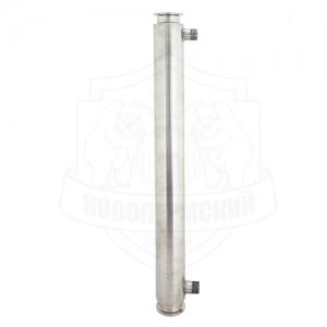 Рубашечный холодильник 50 см CLAMP 2 (штуцеры 1/2)