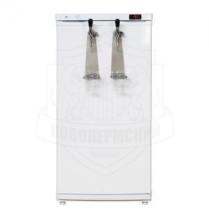 Холодильник пивной на 2 крана