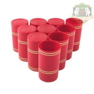 Колпак «Гуала 59», красный, 10 шт