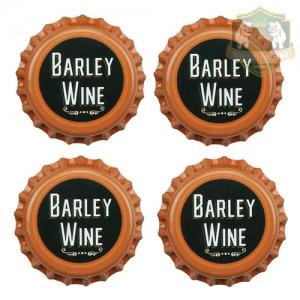 Кроненпробки 6 мм, «Barley Wine», 100 шт