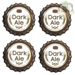 Кроненпробки 6.75 мм, «Dark Ale», 100 шт