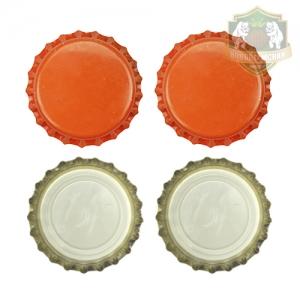 Кроненпробки 6 мм, оранжевый, 100 шт