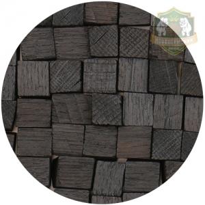 Кубики дубовые - 24 (сильный обжиг), 100 г