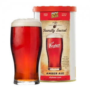 Набор Coopers 1,7 кг Family Secret Amber Ale (Темный Эль)