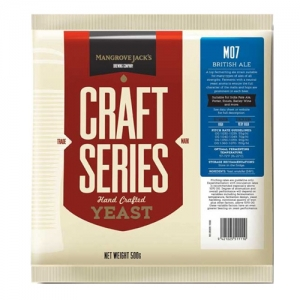 Дрожжи M07 British Ale Yeast, 500 гр