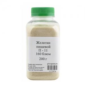 Желатин пищевой П-11, 200 г